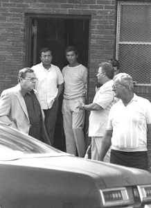Surveillance photo of John Gotti