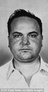 Fat Tony Salerno young mugshot