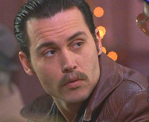 Johnny Depp as Donnie Brasco