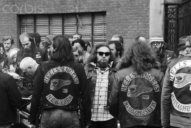 New York Hells Angels funeral