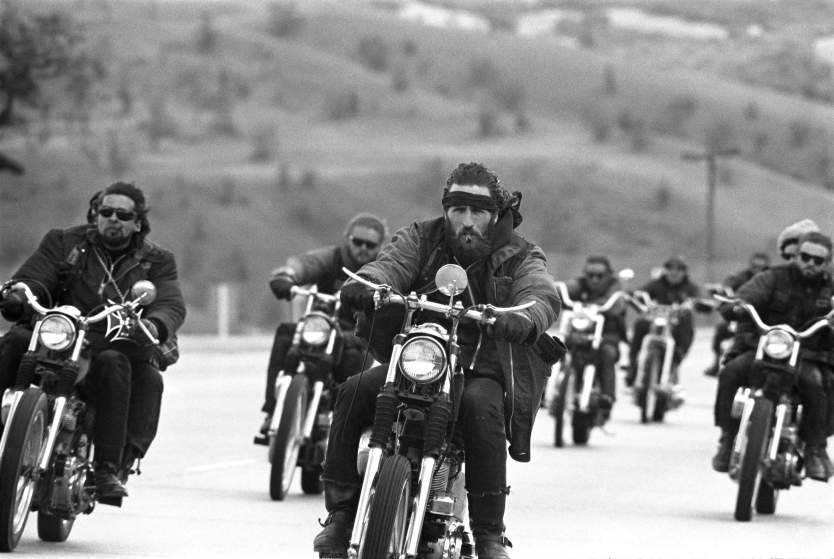 Hells Angels, California, 1965.