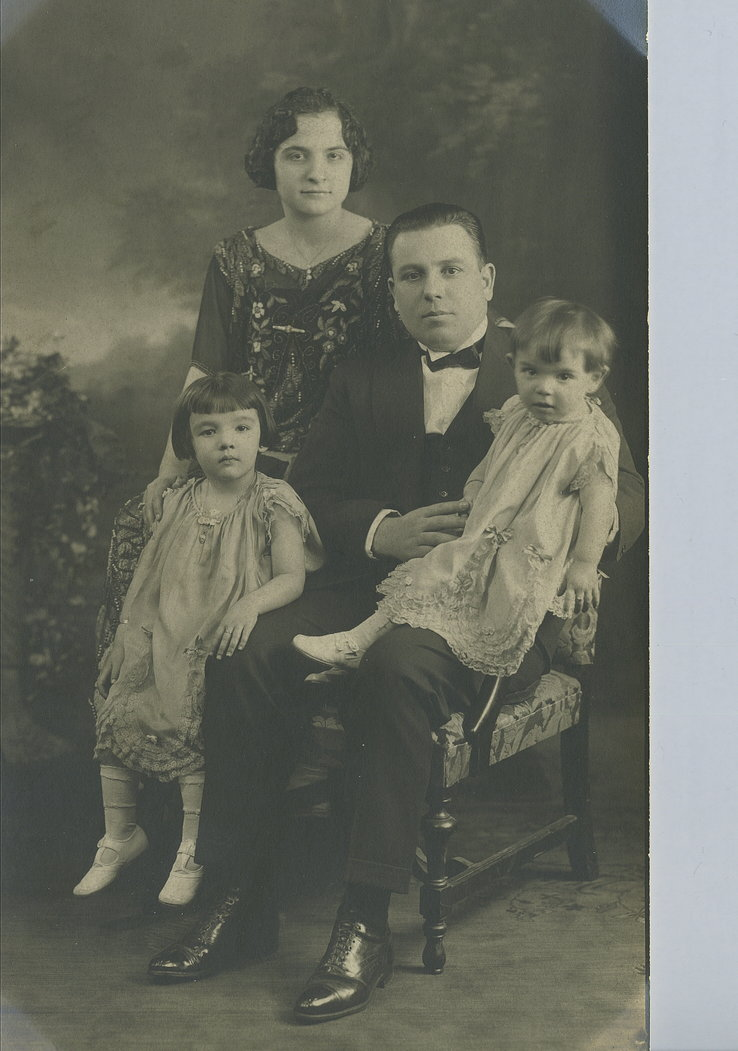 Joe Zerilli and his children, including future Family Boss Anthony