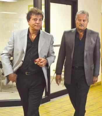 Mimmo & Joe D'Anna leaving court