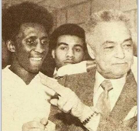 "Tommy Hearns, ""Maserati Rick"" Carter & then Mayor of Detroit Coleman Young"
