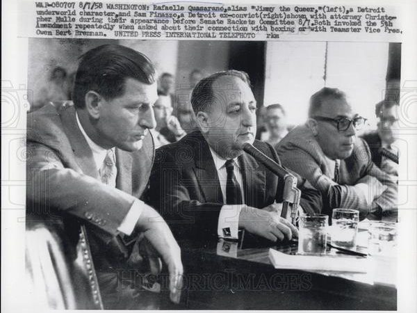 Little Sammy Finazzo (right) in 1958.