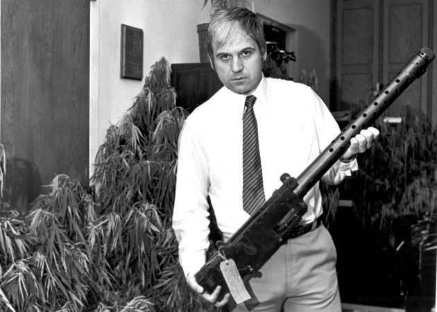 James Traficant in 1982 when he was Sherriff.