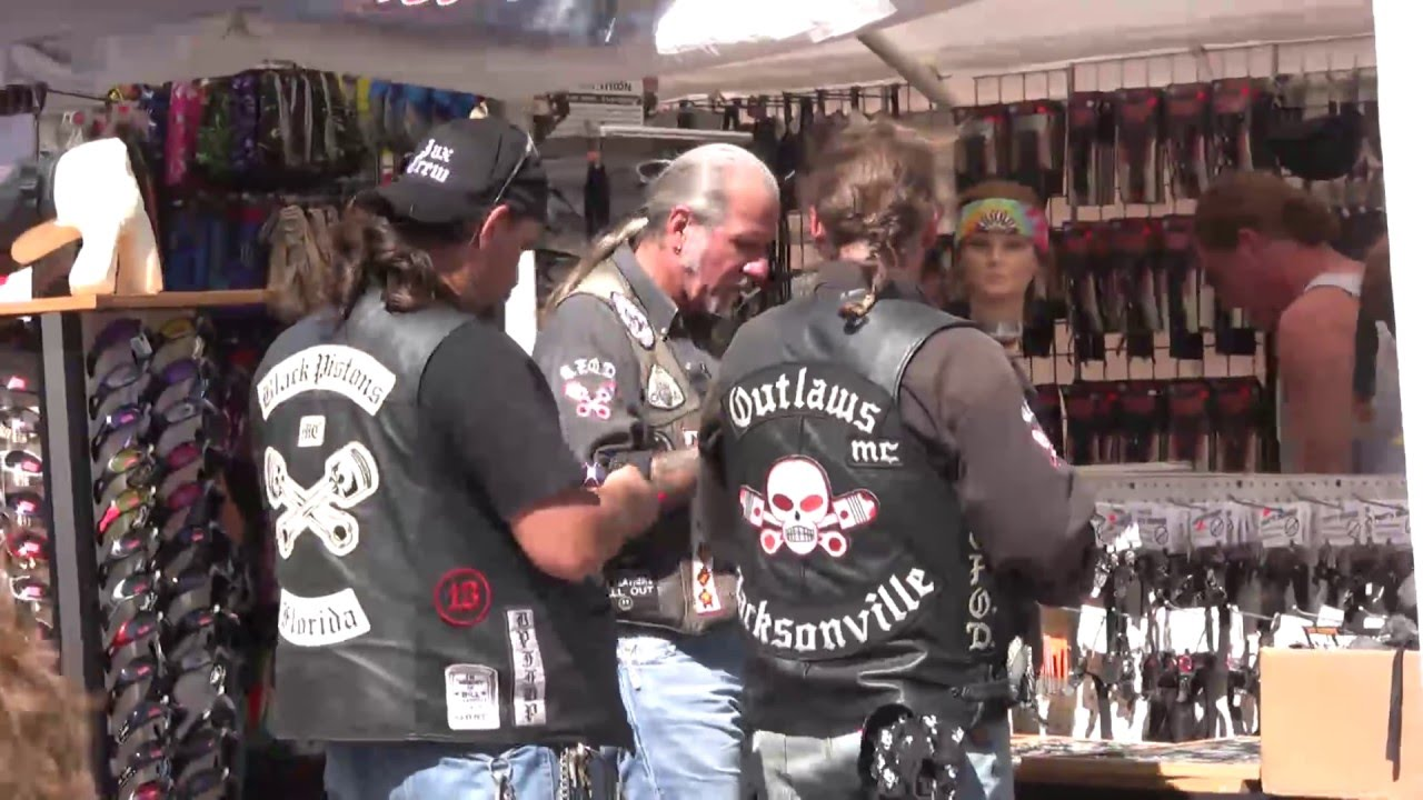 An Explosive Situation: Early-80s Tampa Biker Boss J J  Hall Joined