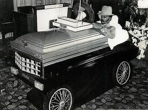 "Going Out In Style: Chicago's ""Willie The Wimp"" Lived Large, Buried In Caddy, Immortalized By Rock God"