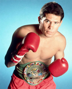 """Hall Of Fame Boxer Julio Cesar Chavez Told El Chapo """"Get Me More Cocaine, Or Get Out Of My Party,"""" After Beating Macho Camacho In '92"""